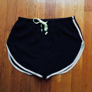 NWT Free People Athletic Shorts w/ Lime Drawstring